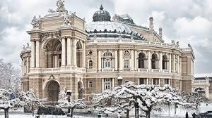 Новогодние гулянья в Одессе