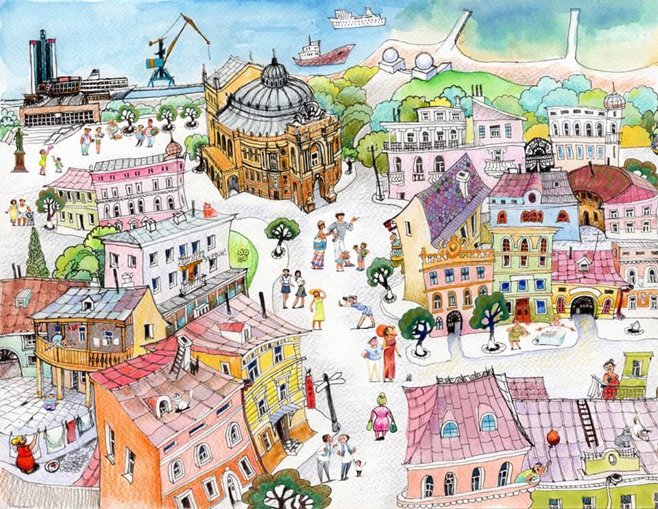Короткая экскурсия по Одессе
