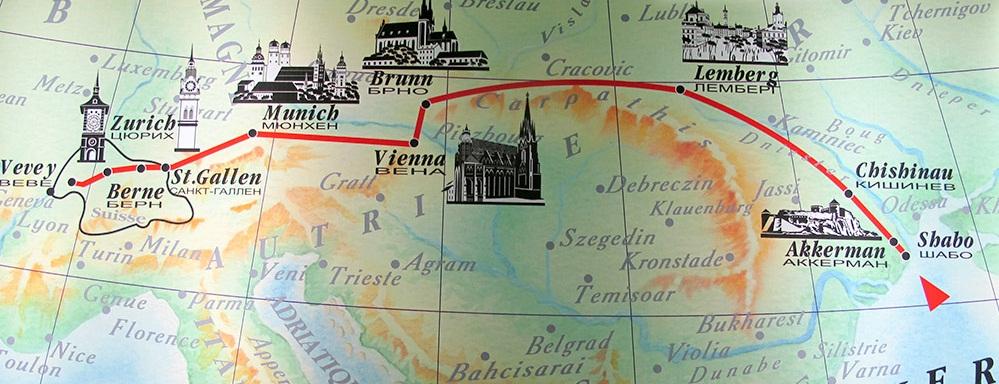карта переселенцев в шабо