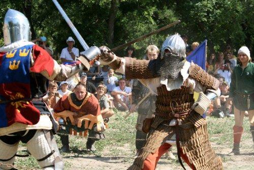 Настоящий рыцарский турнир