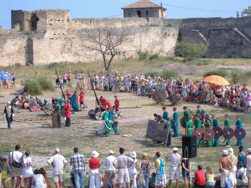 Рыцарские бои в крепости