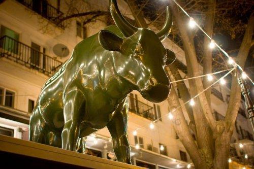 Одесская корова на Дерибасовской