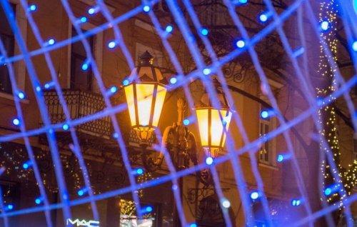 Уличные фонари на Дерибасовской