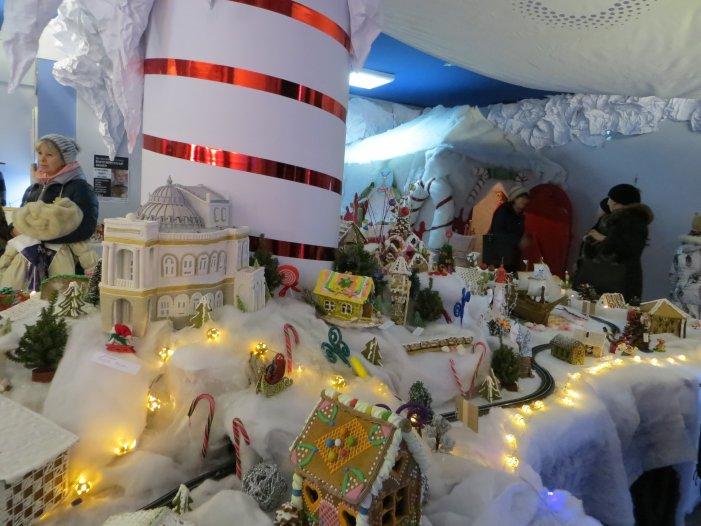 рождественнские домики
