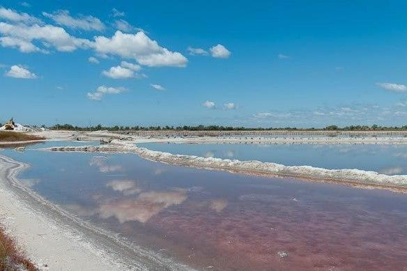 Озеро на Кинбурне
