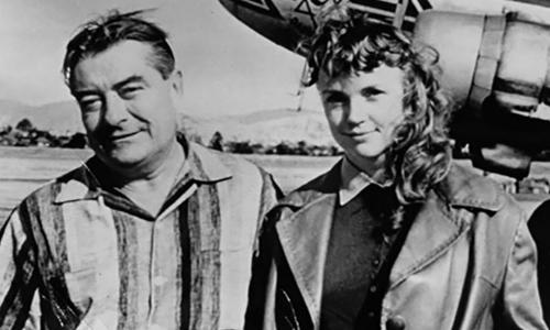 Борис Лисаневич с женой