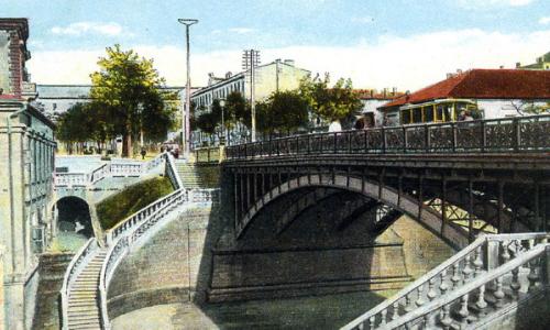 Мост на ул. Бунина